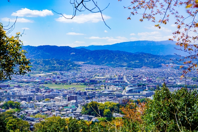 那珂川市の景色